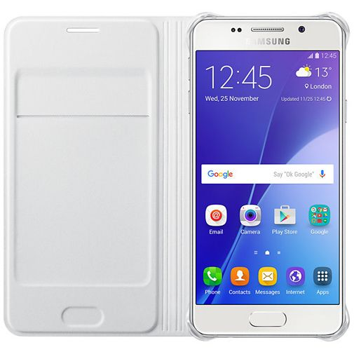 Samsung Flip Cover White Galaxy A3 (2016)