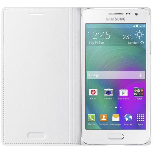 Samsung Flip Cover White Galaxy A3