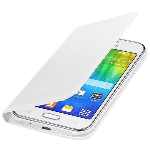 Samsung Flip Cover White Galaxy J1