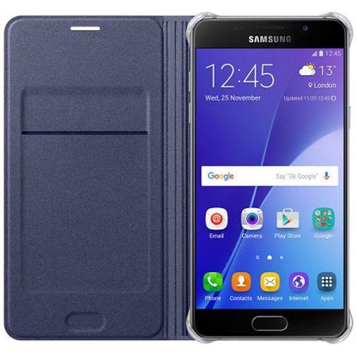 Samsung Flip Wallet Black Blue Galaxy A5 (2016)