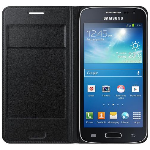 Samsung Flip Wallet Black Galaxy Core 4G