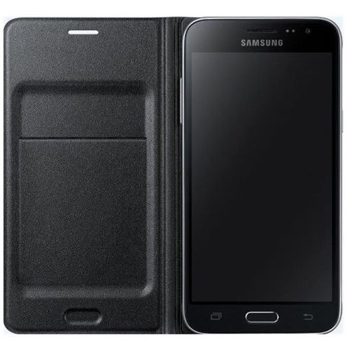 Samsung Flip Wallet Black Galaxy J1 (2016)