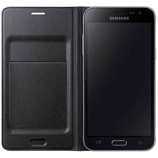 Samsung Flip Wallet Black Galaxy J3 (2016)