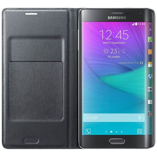 Samsung Flip Wallet Black Galaxy Note Edge