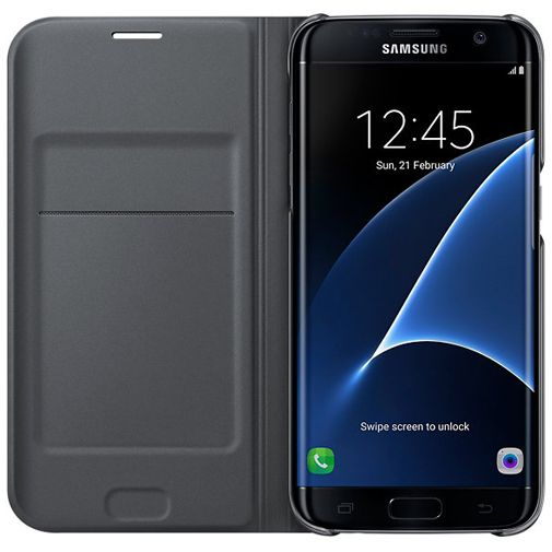 Samsung Flip Wallet Black Galaxy S7 Edge