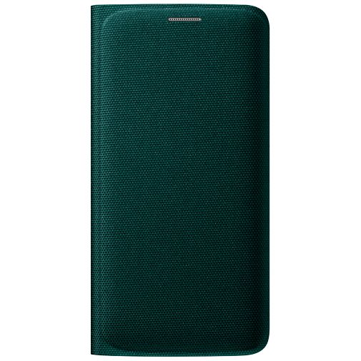Samsung Flip Wallet Canvas Green Galaxy S6 Edge