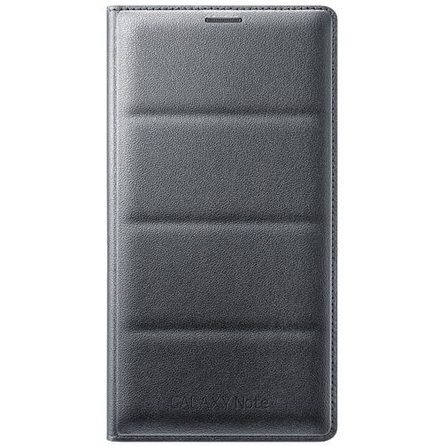 Samsung Flip Wallet Charcoal Black Galaxy Note 4