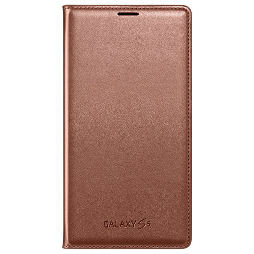 Samsung Flip Wallet Galaxy S5/S5 Plus/S5 Neo Rose Gold
