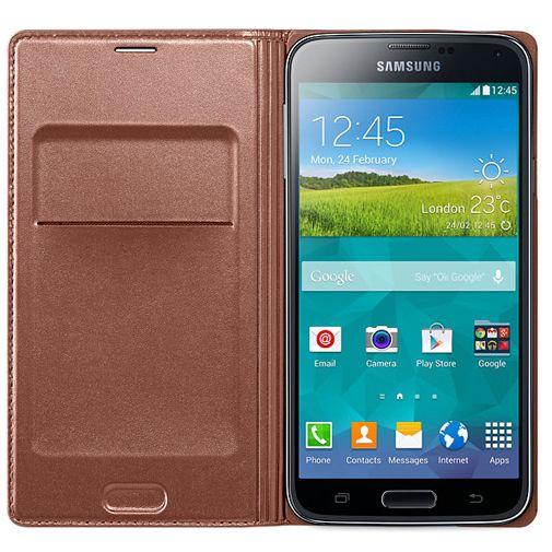 Samsung Flip Wallet Galaxy S5/S5 Plus/S5 Neo Rose Gold