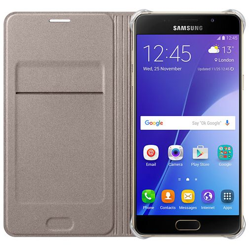 Samsung Flip Wallet Gold Galaxy A5 (2016)