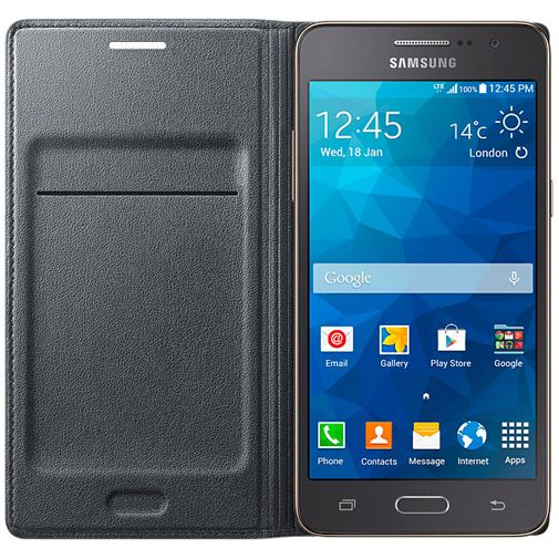 Samsung Flip Wallet Grey Galaxy Grand Prime (VE)
