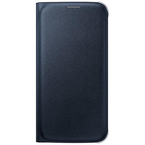 Samsung Flip Wallet Original Blue Black Galaxy S6