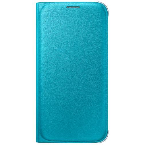 Productafbeelding van de Samsung Flip Wallet Original Blue Galaxy S6