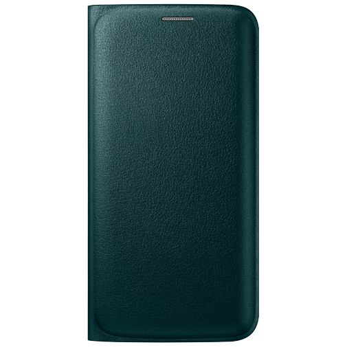 Samsung Flip Wallet Original Green Galaxy S6 Edge