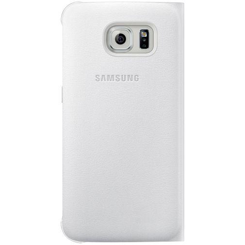 Samsung Flip Wallet Original White Galaxy S6 Edge