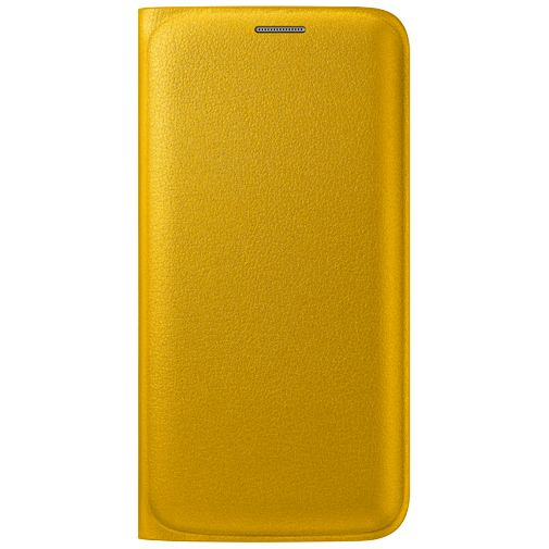 Samsung Flip Wallet Original Yellow Galaxy S6 Edge