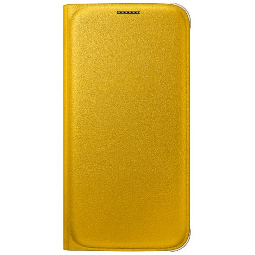 Samsung Flip Wallet Original Yellow Galaxy S6