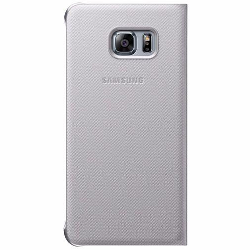 Samsung Flip Wallet Silver Galaxy S6 Edge Plus
