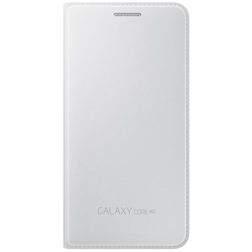 Samsung Flip Wallet White Galaxy Core 4G