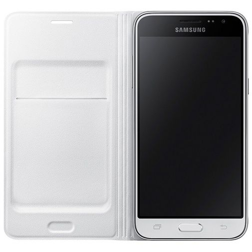 Samsung Flip Wallet White Galaxy J3 (2016)