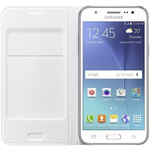 Samsung Flip Wallet White Galaxy J5