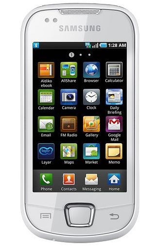 Samsung Galaxy 3 i5800 White