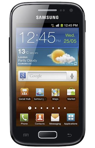 Productafbeelding Samsung Galaxy Ace 2 i8160 Black