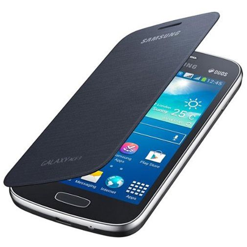 Samsung Galaxy Ace 3 Flipcover Black