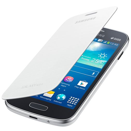 Samsung Galaxy Ace 3 Flipcover White