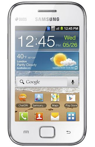Samsung Galaxy Ace S6802 DuoSim White
