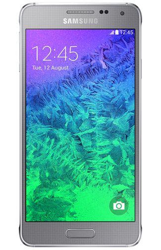 Samsung Galaxy Alpha G850F Silver