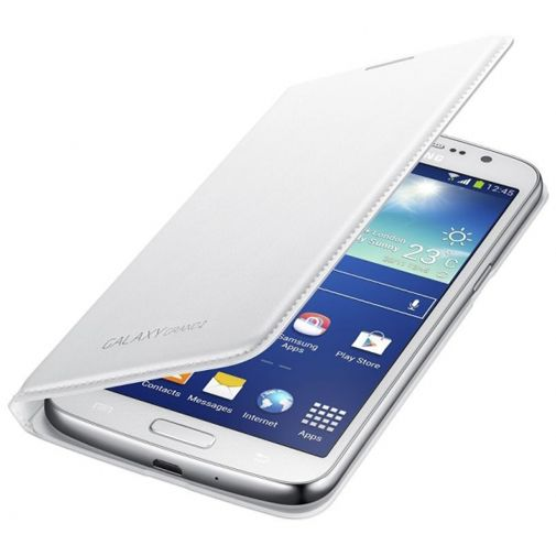 Samsung Galaxy Grand 2 Flip Wallet White