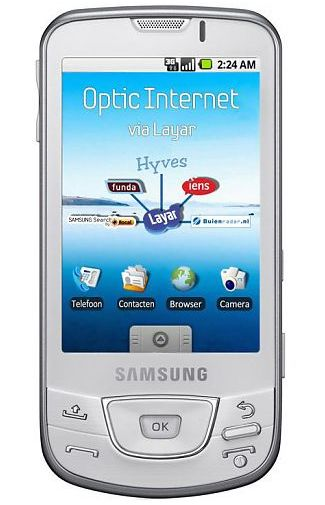 Samsung Galaxy I7500 White Silver