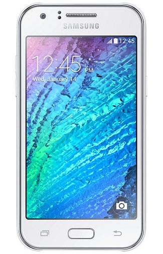 Samsung Galaxy J1 Duos White