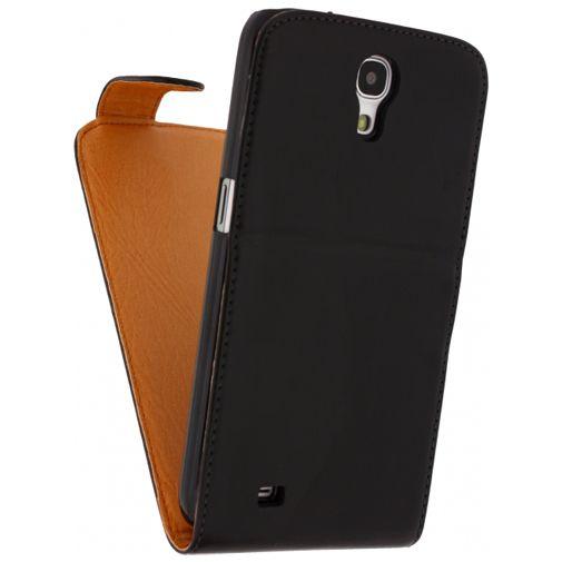 Productafbeelding van de Xccess Leather Flip Case Black Samsung Galaxy Mega i9205