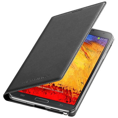 Samsung Galaxy Note 3 Flip Wallet Black