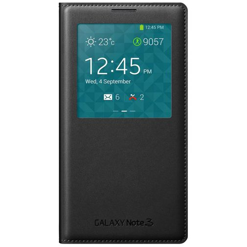Samsung Galaxy Note 3 Neo S View Cover Black