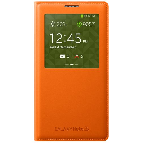 Samsung Galaxy Note 3 S-View Cover Orange