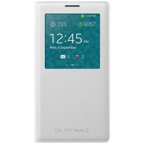 Samsung Galaxy Note 3 S-View Cover White