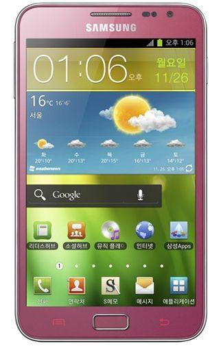 Productafbeelding van de Samsung Galaxy Note N7000 Pink