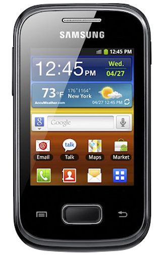 Samsung Galaxy Pocket Plus S5301 Black