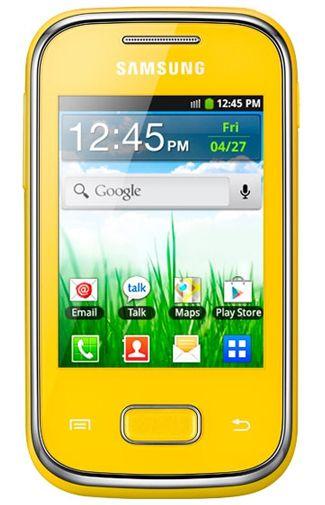 Samsung Galaxy Pocket S5300 Yellow