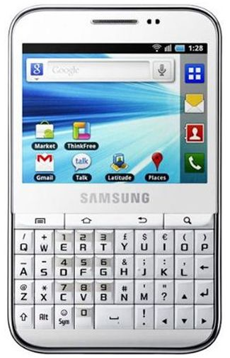 Samsung Galaxy Pro B7510 White