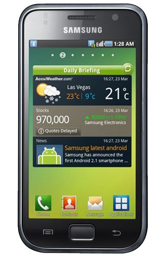 Samsung Galaxy S i9000 16 GB Black