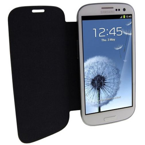 Samsung Galaxy S3 (Neo) Flip Cover Black
