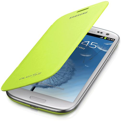 Samsung Galaxy S3 (Neo) Flip Cover Green