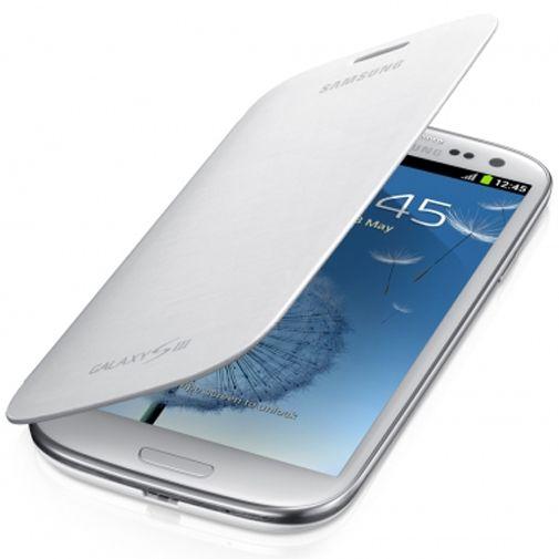Productafbeelding van de Samsung Galaxy S3 (Neo) Flip Cover Marble White