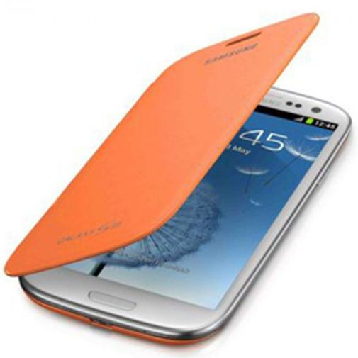 Samsung Galaxy S3 (Neo) Flip Cover Orange