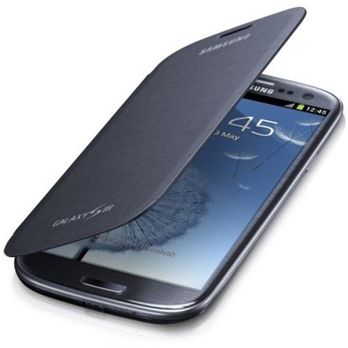 Samsung Galaxy S3 (Neo) Flip Cover Pebble Blue