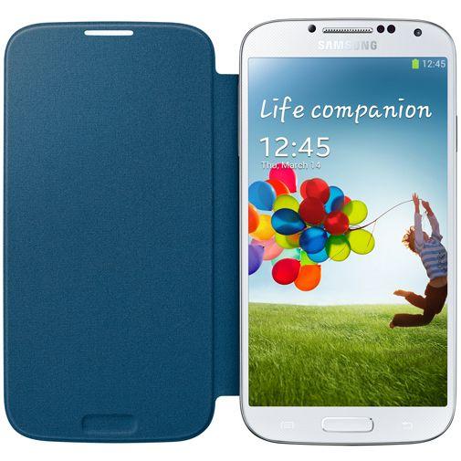 Samsung Galaxy S4 Flip Cover Rigel Blauw